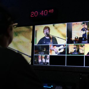 Ed Sheeran – 5 Camera Outside Broadcast