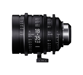 SIGMA 18-35MM T2 PL LENS HIRE