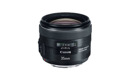 Canon 35mm Lens Hire