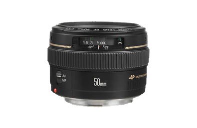 Canon 50mm f1.4 Hire