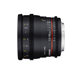 Samyang 50mm Prime Lens Hire