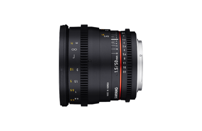 Samyang 50mm Prime Lens Hire